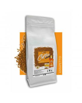 Кофе растворимый сублимированный с ароматом Амаретто: дополнение ликером