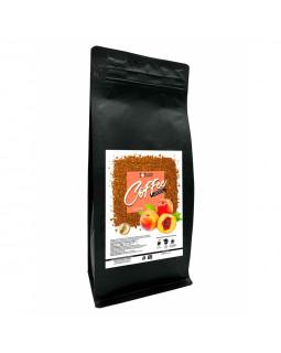 Кава розчинна сублімована з ароматом Персика