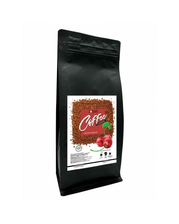 """Кава розчинна сублімована з ароматом """"Вишня"""", 0.5кг"""