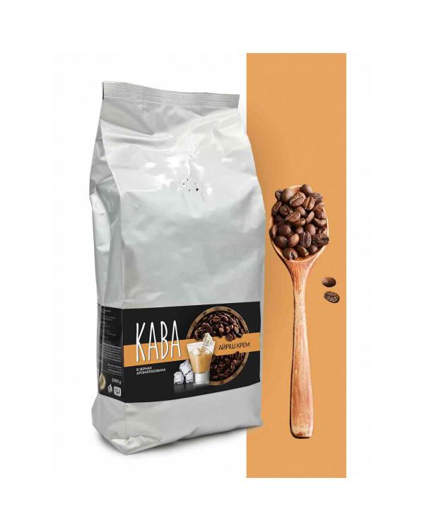 """Кофе в зернах ароматизированный """"Милвуд/Ирландский крем"""", 1кг"""