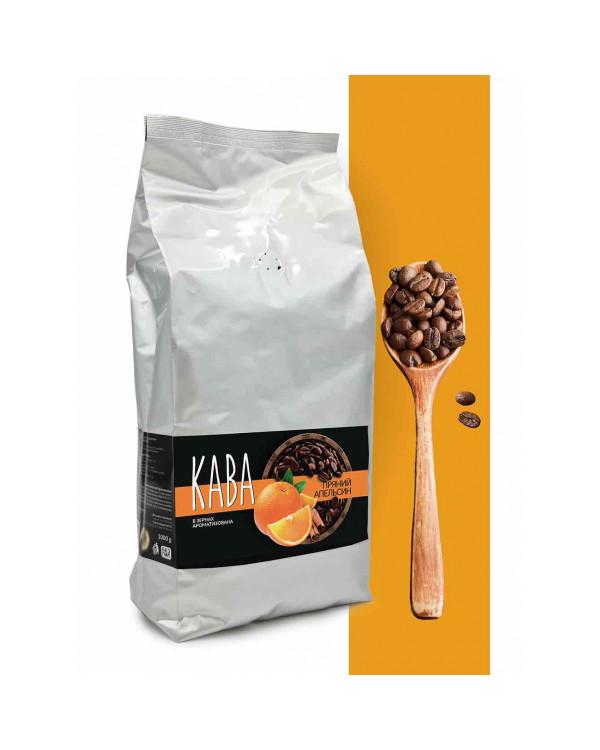 """Кофе в зернах ароматизированный """"Пряный апельсин"""" Vending"""