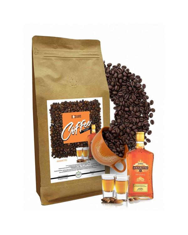 Кава в зернах Амаретто 100% Арабіка, 1кг