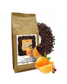 """Кофе в зернах ароматизированный """"Пряный апельсин"""""""
