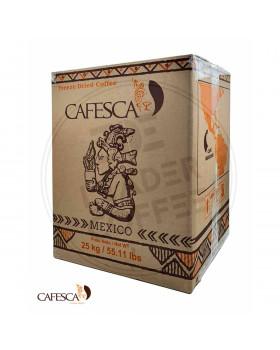 Розчинна сублімована Cafesca Mexico (Мексика): реальність перевершує очікування
