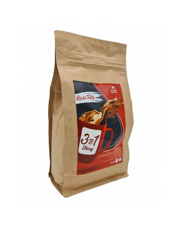 Кофе TM Leadercoffee 3в1 Strong, 1кг