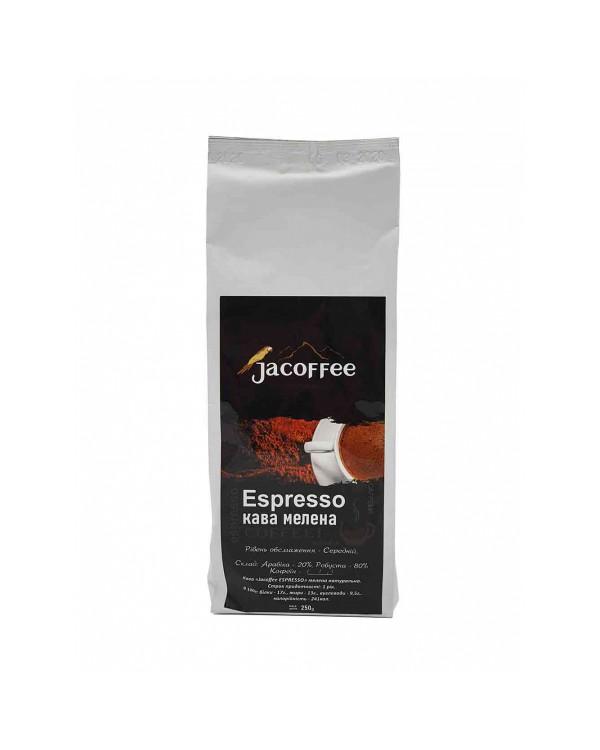Кава мелена Jacoffee Еspresso 250г