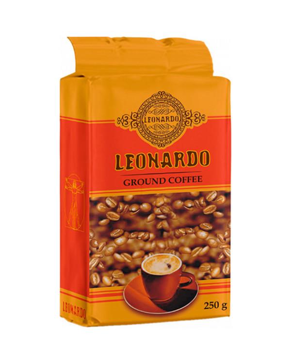 Кава мелена LEONARDO, 250г