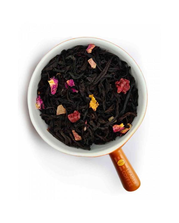 Чай чорний з шматочками ананаса і манго –  коли хочеться екзотики