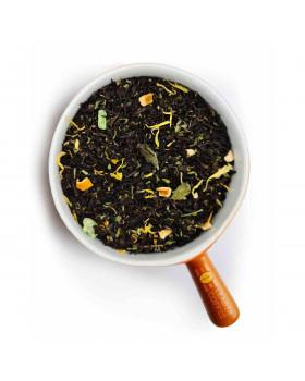 Чай чорний з чебрецем та м'ятою, 1кг