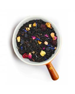 Чай черный черничный йогурт – сладкий вкус, приятный аромат