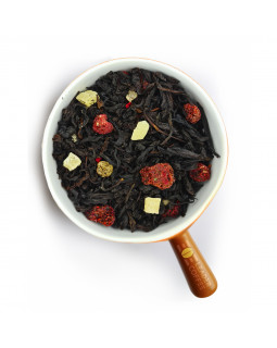 """Чай черный с ягодами малины """"Малиновый йогурт"""" – добавьте разнообразия"""