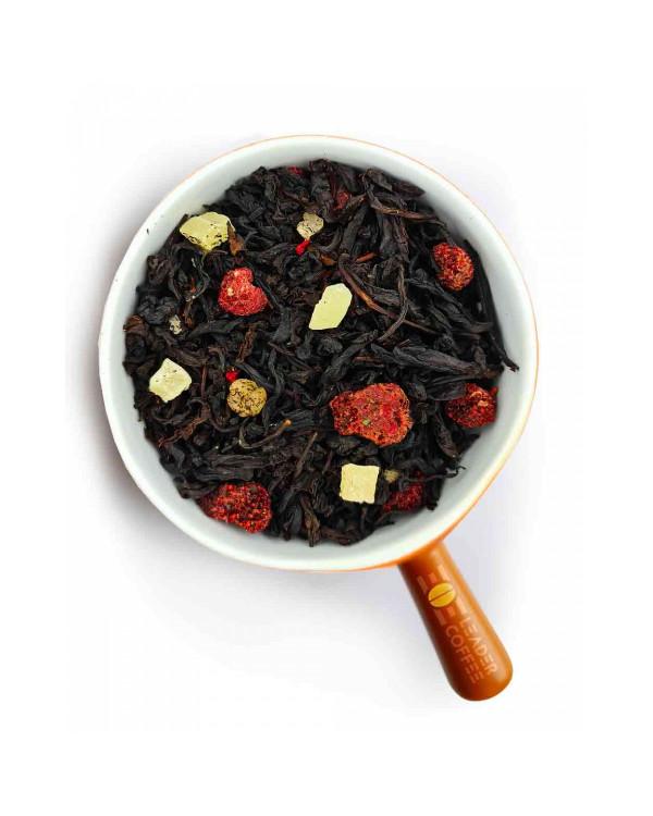 """Чай чорний з ягодами малини """"Малиновий йогурт"""" – додайте різноманітності"""