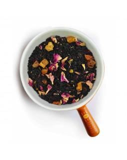 """Чай черный с кусочками абрикоса """"Абрикосовый джем"""" – дополните вкус фруктовой сладостью"""