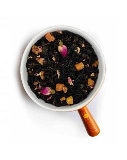 """Чай чорний і зелений зі шматочками абрикоса та манго """"1002 ніч"""" – солодкий купаж для гурманів"""