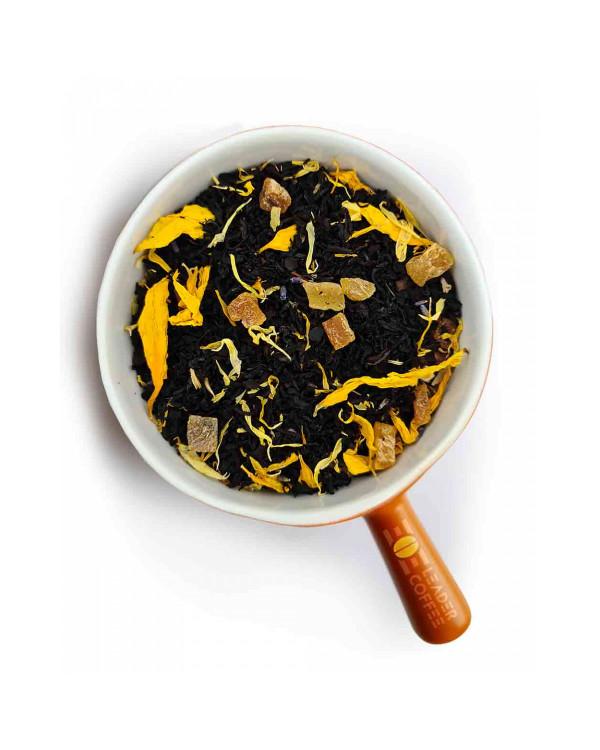 Чай чорний з динею та цукатами  – преміальна якість для гурманів