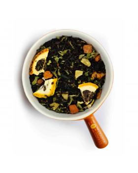 "Чай чорний ""Лимон та м'ята"", 1кг"