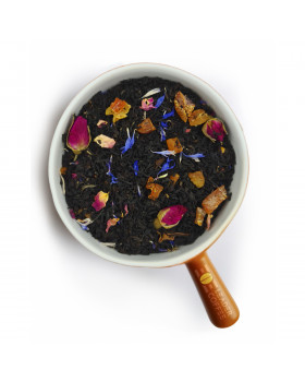 """Чай чорний зі шматочками персика """"Соковитий персик"""" – солодка свіжість літа"""