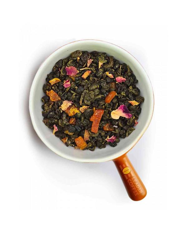"""Чай зеленый с кусочками абрикоса """"Абрикосовый джем"""" – сладость и свежесть лета"""
