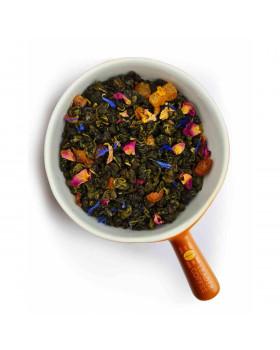 """Чай зеленый с кусочками персика """"Сочный персик"""" – сладость и свежесть лета"""
