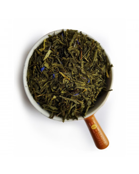 """Чай зеленый Сенча """"Брызги Шампанского"""" – прекрасный вариант для торжества"""