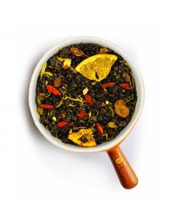 Чай зелений ароматизований Gunpowder з цедрою мандарина – додайте відтінок цитрусових