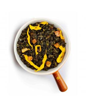 Чай зелений Равлик з манго: тропічний післясмак
