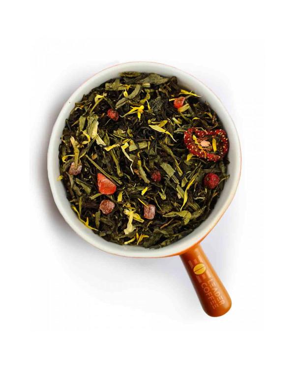"""Чай зеленый микс """"Чизкейк"""" – сбор, который полезен для пищеварения"""