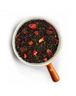 """Чай зелений Gunpowder """"Суниця з вершками"""" – добавки, що роблять смак ніжнішим"""