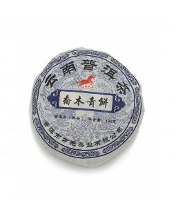 Чай пуэр блин зеленый – элита китайских пуэров
