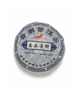 Чай Пуэр блин зеленый 100г