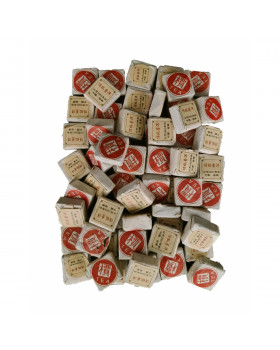 Чай Пуэр Прессованный кубик 6г, 1кг