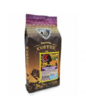 Кава в зернах GALEADOR Arabica Ethiopia Yirgacheffe, 100/0, 1кг