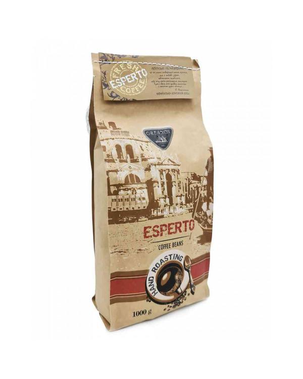 Кофе в зернах GALEADOR ESPERTO (1 кг): изумительный авторский купаж