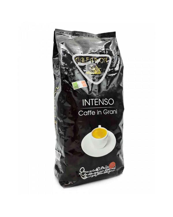 Кофе в зернах GALEADOR INTENSO (1 кг): купаж формата 50/50