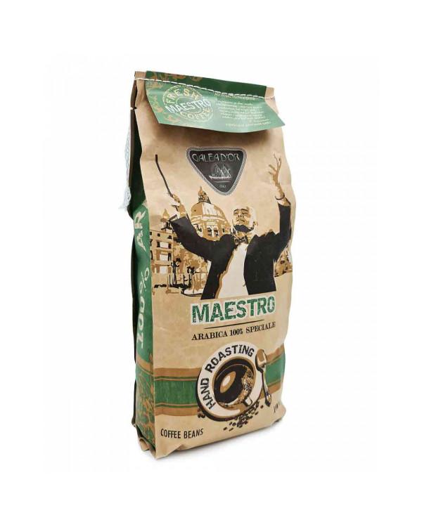 Кава в зернах GALEADOR MAESTRO Arabica Speciale – авторський купаж від 1 кг за вигідною ціною