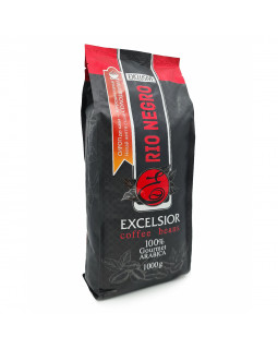 Кофе в зернах RIO NEGRO Excelsior (1 кг): хлеб, специи, вино, фрукты и орех