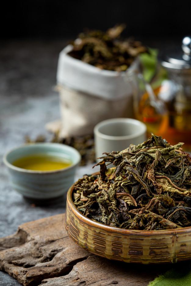 Купить зеленый классический чай - «Leader Coffee»