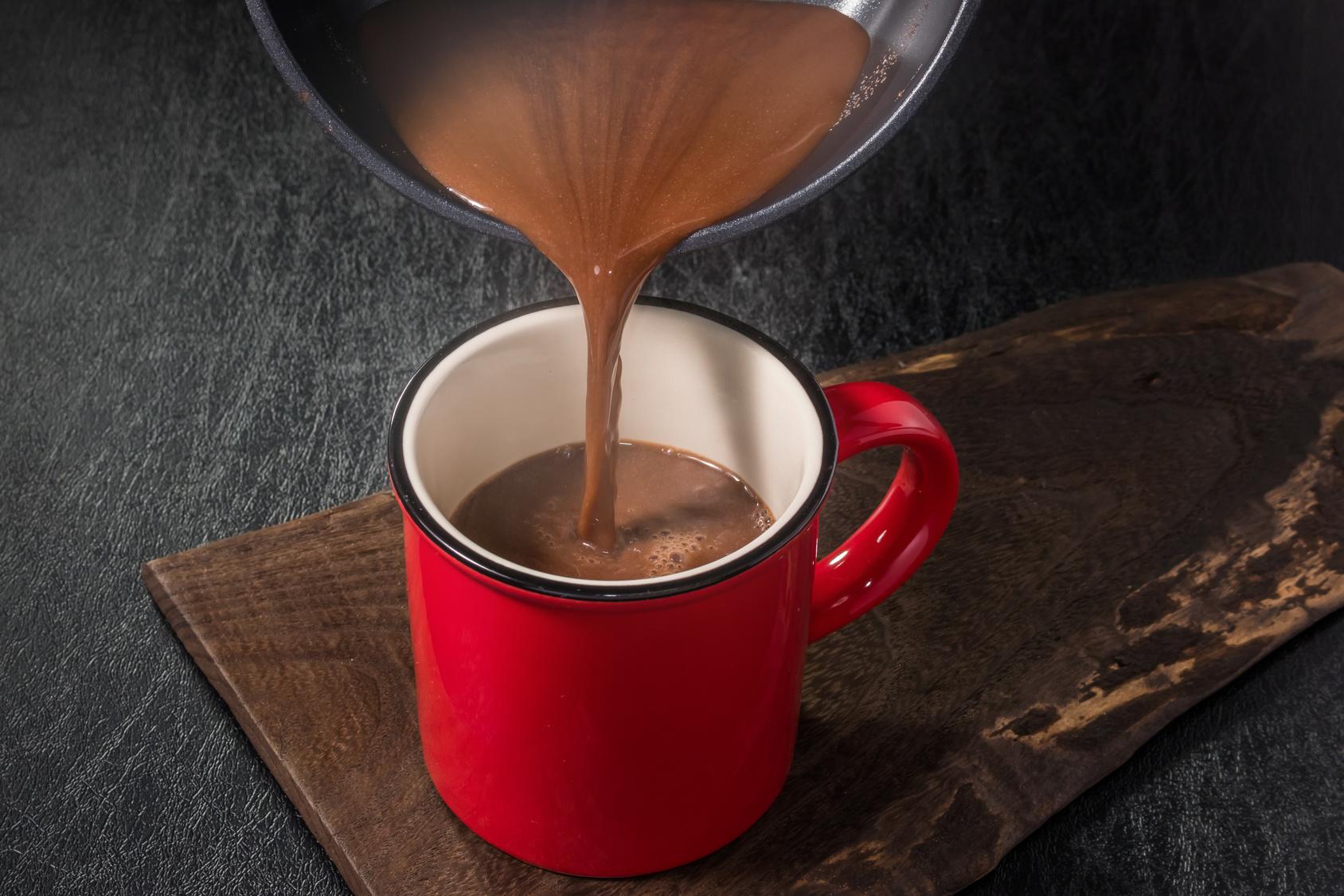 Купить горячий шоколад оптом - компания Leader Coffee
